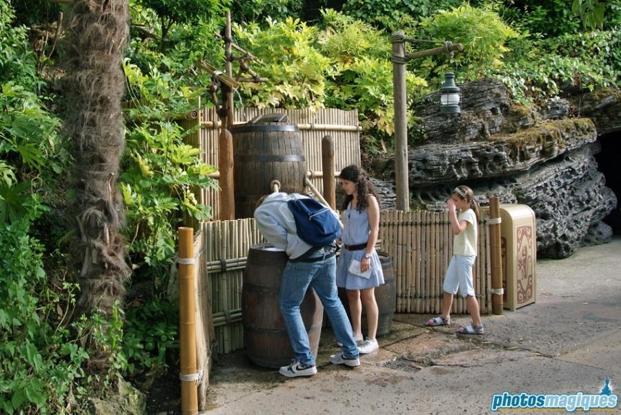 La Cabane des Robinson drinking fountain