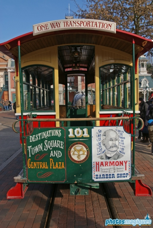 Horse-Drawn Streetcars