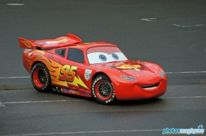 Moteurs…Actions! Stunt Show Spectacular Featuring Lightning McQueen will stay during the 20th Anniversary