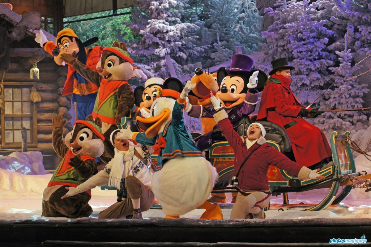 mickey�s winter wonderland � photos magiques