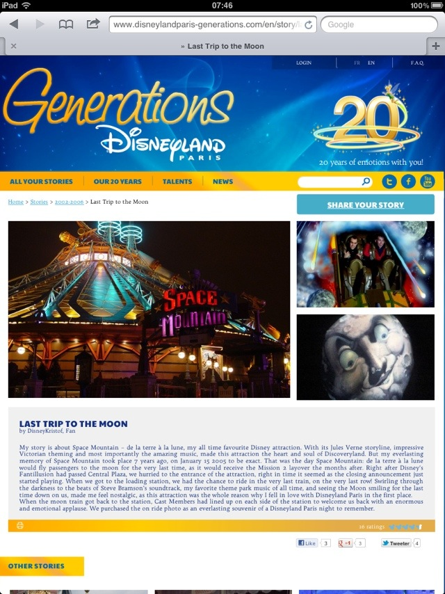 Generation Disneyland Paris