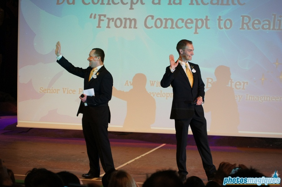 Master Class with Tony Baxter - the Disneyland Paris Ambassadors Regis and Osvaldo