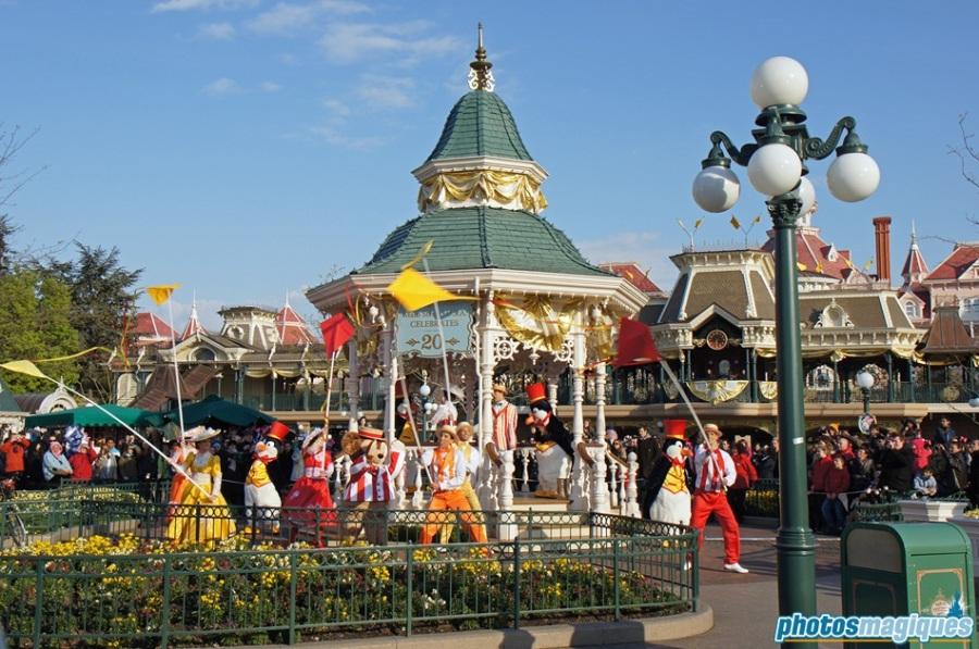 Main Street, U.S.A. Celebrates