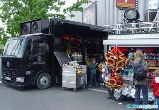 Studio Merchandise Truck