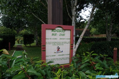 Disney's Davy Crockett Ranch mini-golf