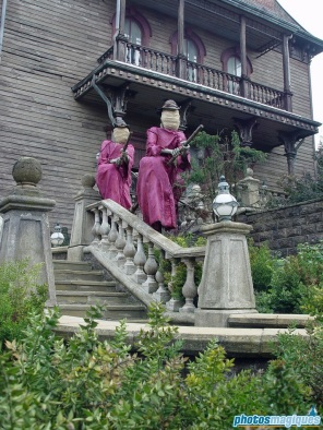Pink Witches at Phantom Manor