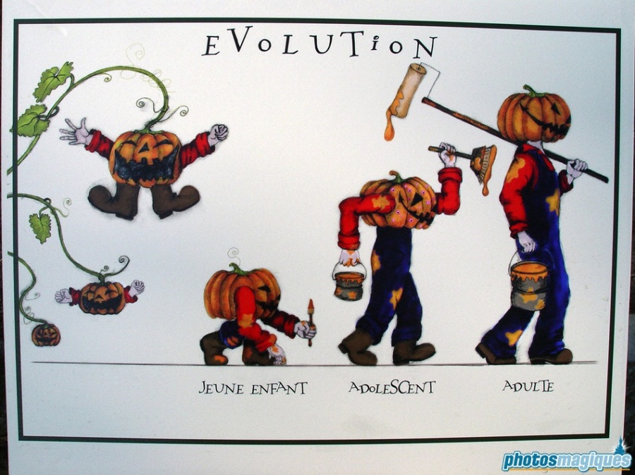 Evolution of the Pumpkin Men