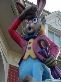 Main Street Easter decorations