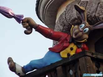 Fantasyland Easter decorations