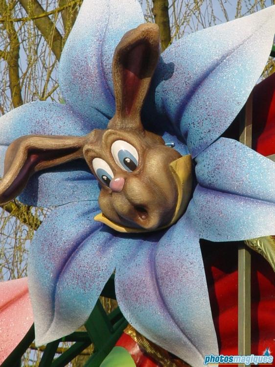 Easter Village in Fantasyland