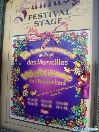 Welcome to Wonderland in Fantasy Festival Stage