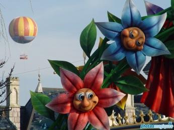 Fantasyland Easter decorations