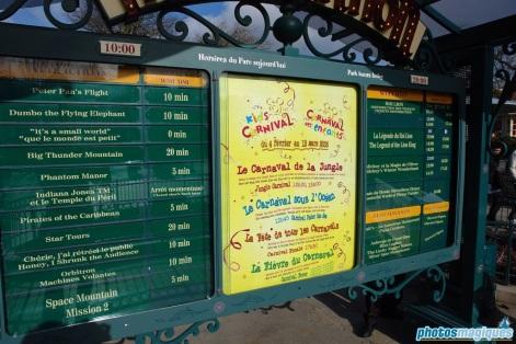 Kids Carnival tip board