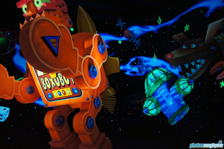 9-Eye in Buzz Lightyear Laser Blast