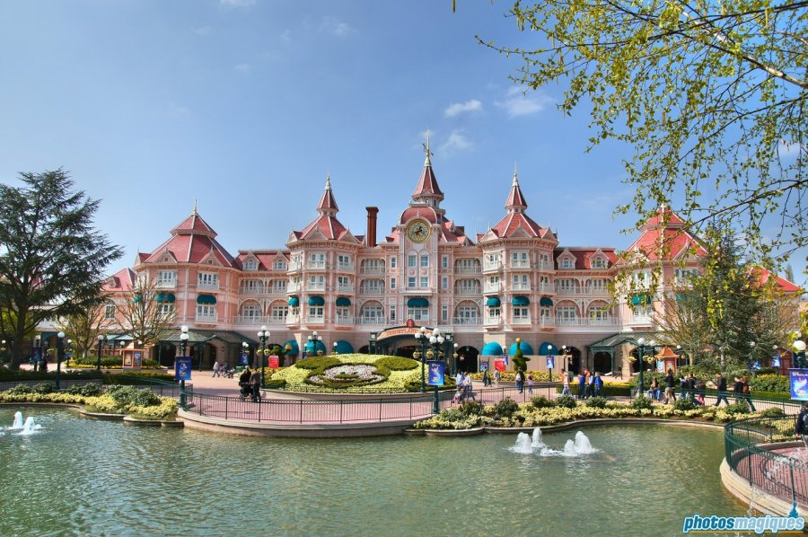 Spring at Disneyland Paris