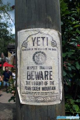 Beware of the Yeti