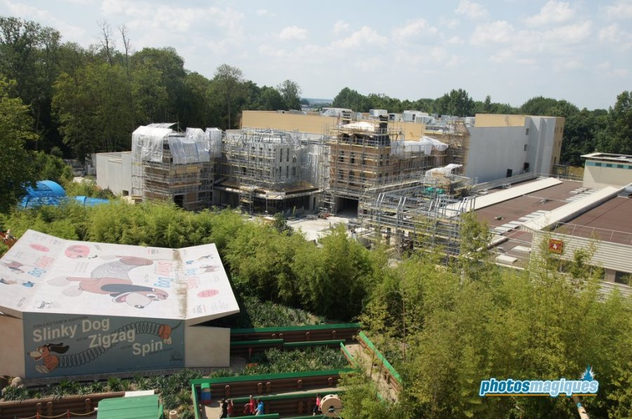 Ratatouille construction