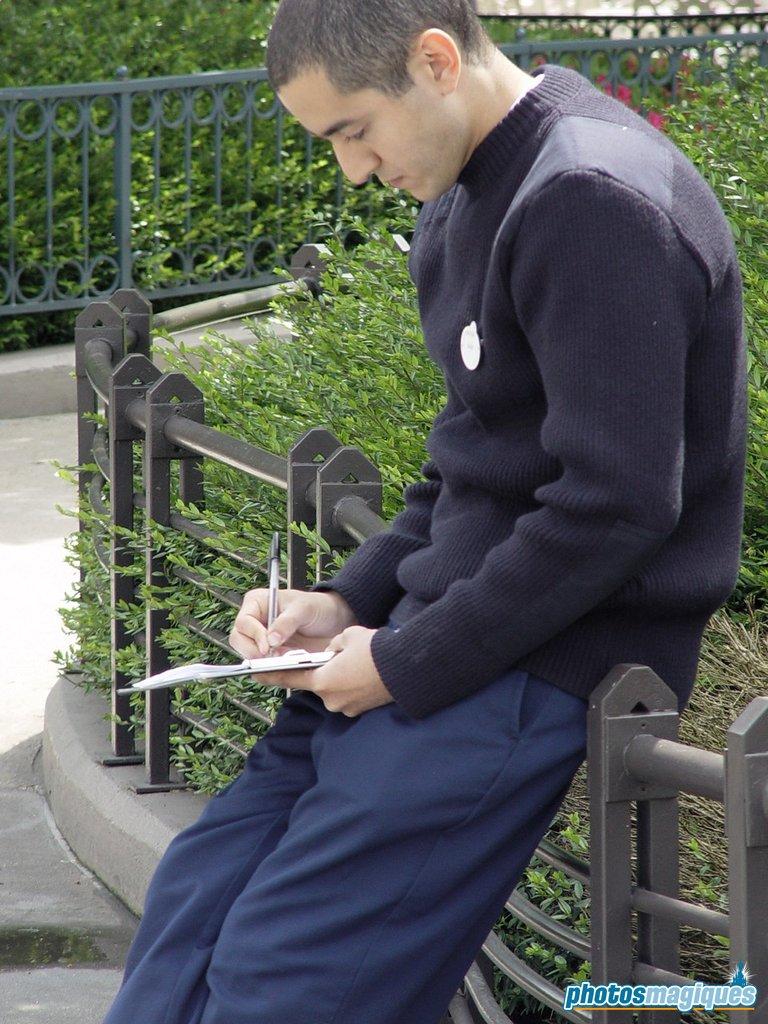 Cast Member sketching