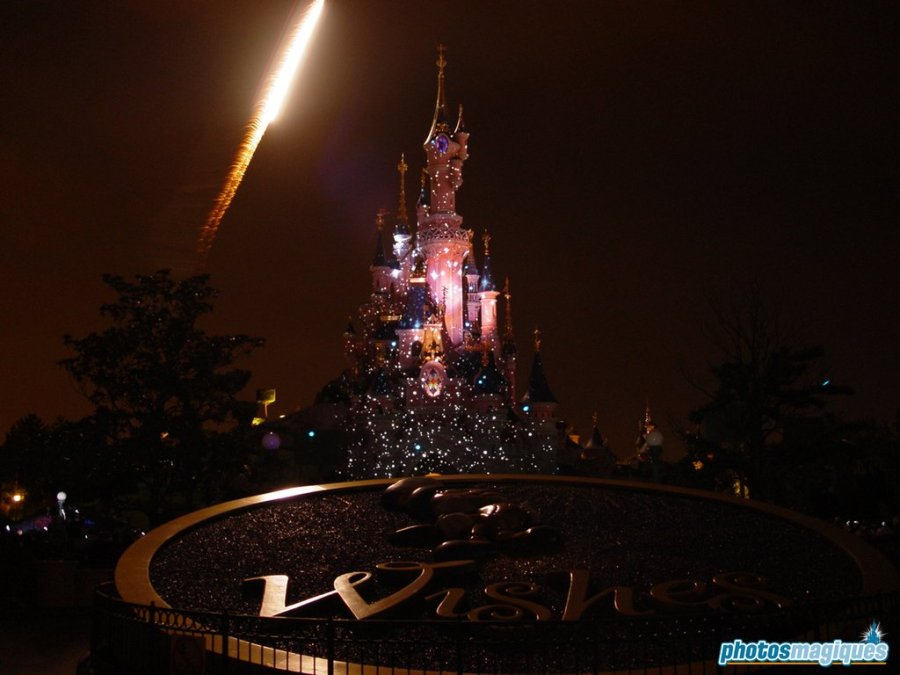 Wishes logo on Central Plaza