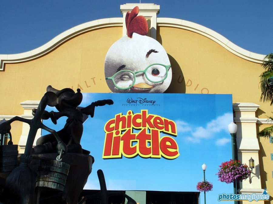 Chicken Little billboard