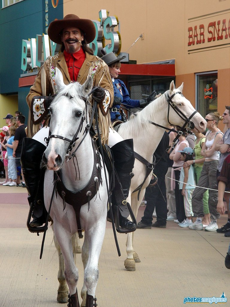 Disney Village Buffalo Bill Parade