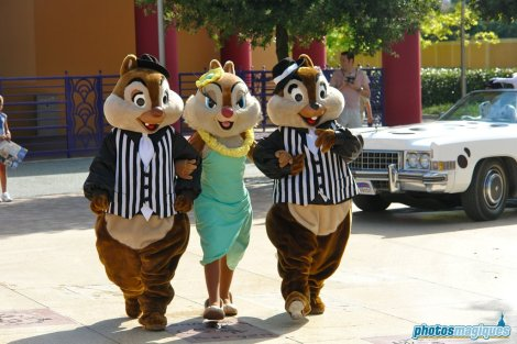 Clarice, Chip, Dale