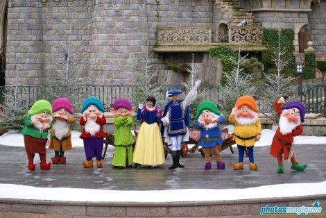 Snow White, Prince, Seven Dwarfs (2009)