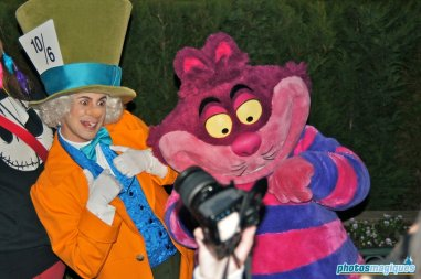 Mad Hatter, Cheshire Cat