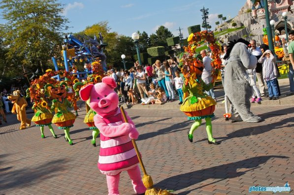 Disney's Halloween Festival 2014 at Disneyland Paris