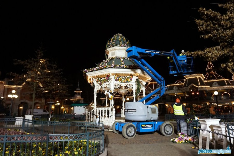 Behind the scenes at Disneyland Paris