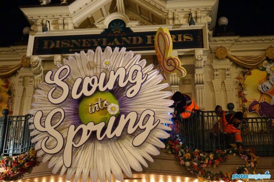 Behind the scenes at Disneyland Paris